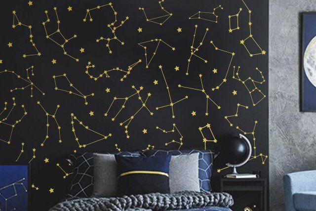 27 Zodiac Constellation Wall Decals Star Decals Zodiac Gift
