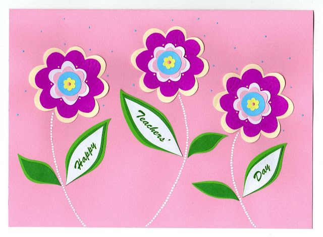 Lin Handmade Greetings Card: Teacher's Day cards | Azlina ...