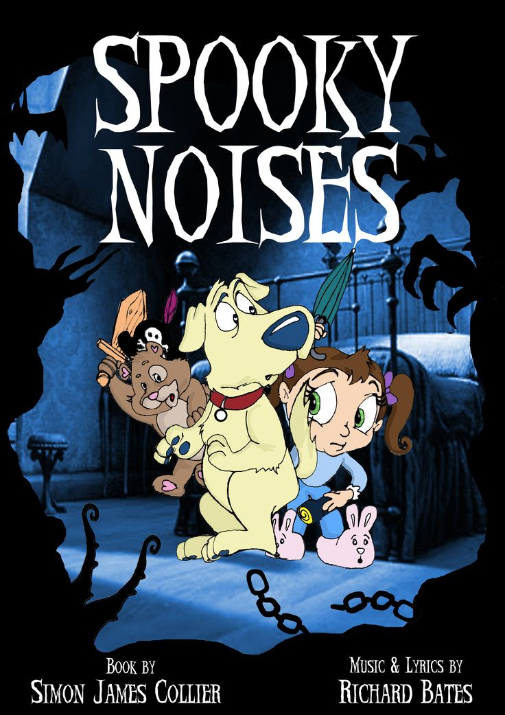 New Spooky Noises project, book by Simon James Collier, music & lyrics by Richard Bates