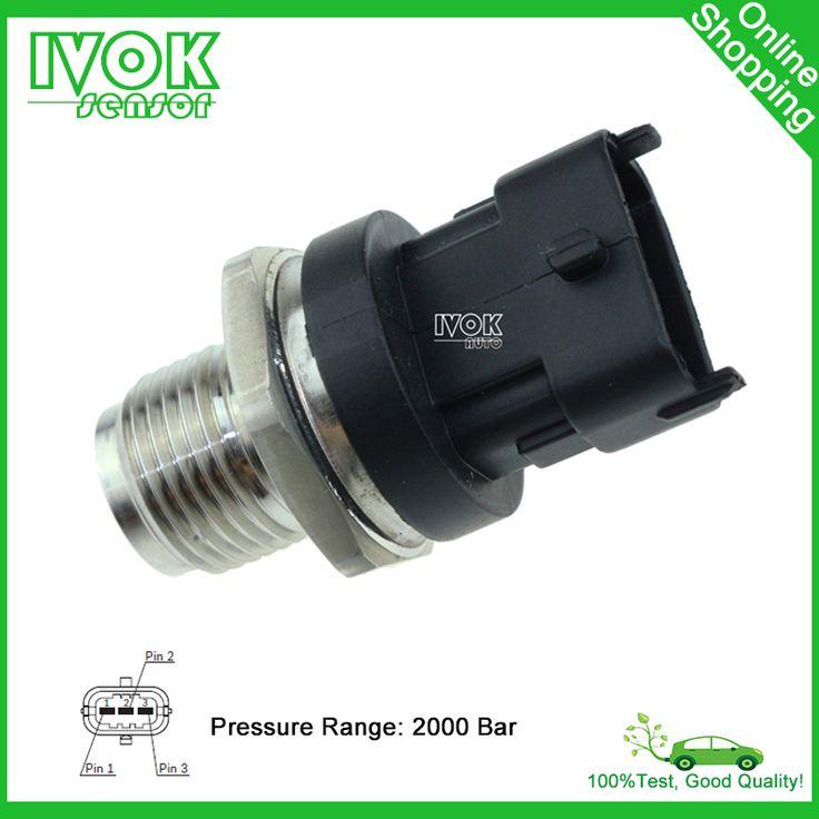 Fuel Rail Pressure Sensor 0281006165 For Bentley Azure <font><b>Continentall</b></font> 6.75 V8 Maybach 5.5 V12