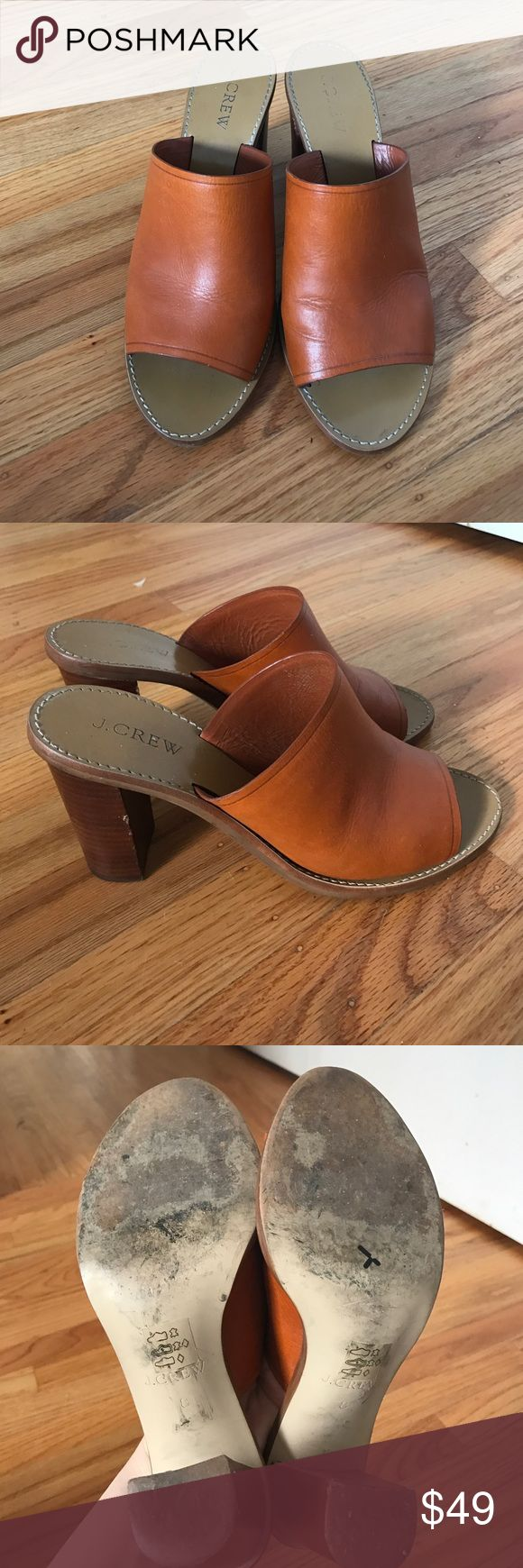 JCrew Mules. Size 8 JCrew Mules. Size 8. Minimal wear. jcrew Shoes Mules & Clogs