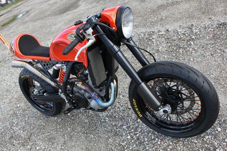 Custom KTM 525 EXC by Roland Sands Design