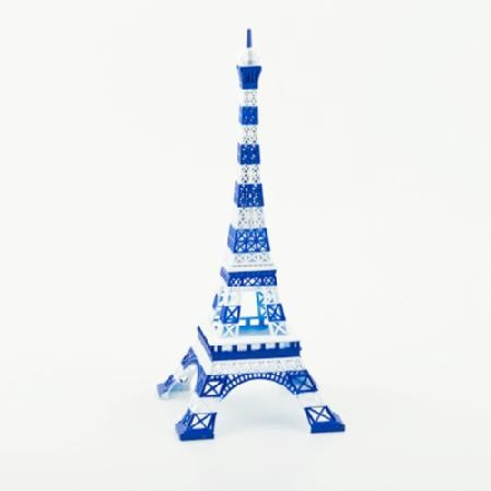 Trè magnifique! Flaunt your eye for style with this limited-edition, Gaultier-inspired Eiffel Tower, decorated in his signature marinière stripes. Designed by Nathalie Leret and Yves Castelain, each piece includes a certificate of authenticity. Made with zinc alloy in France. To clean, wipe with a soft cloth. Measures 6'' x 12''.: Eiffel Towers, Style, Gaultier Inspired Eiffel, Eye