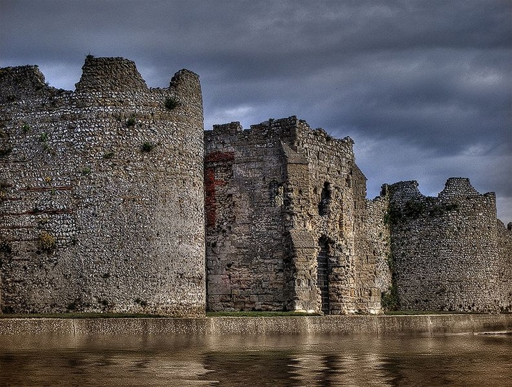 Porchester Castle - just out of Portsmouth - combine with lunch in nearby Port Solent