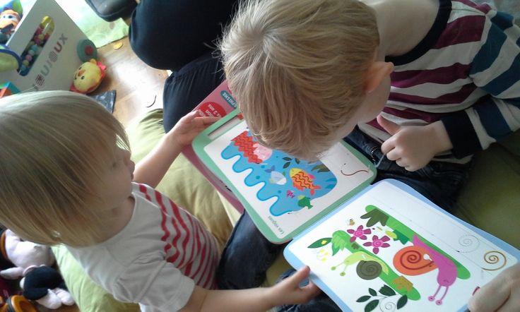 """Maternelle : le livre-ardoise """"Mes premiers graphismes"""" (Editions Bordas)"""