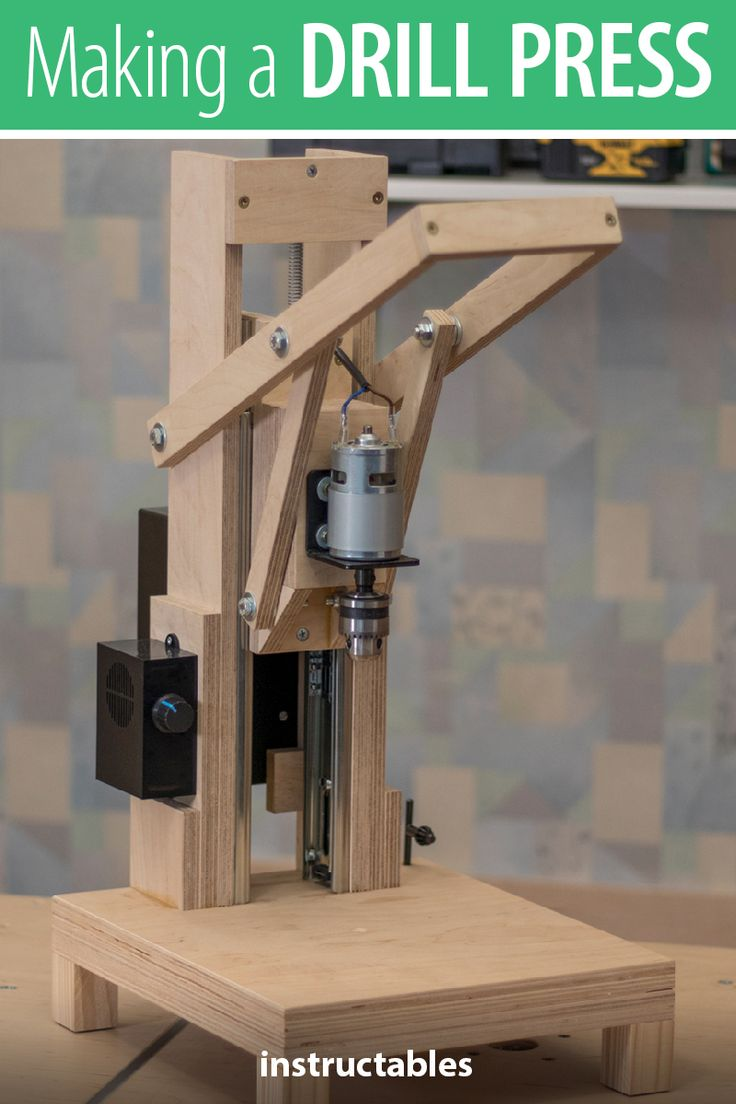 Is it worth the time and effort to design and build a homemade drill press? Check out this tutorial that uses a model 775 motor and see for yourself.