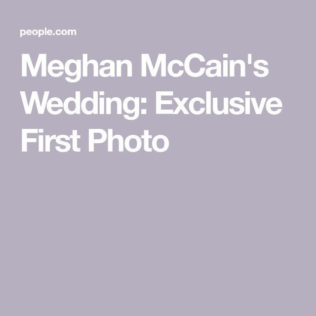 Meghan Mccain Wears Marchesa Wedding Dress: Best 25+ Meghan Mccain Ideas On Pinterest