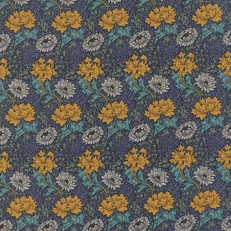 Morris Earthly Paradise Blue 8330 11