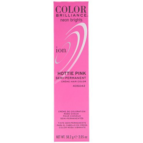 Semi Permanent Neon Brights Hair Color Hottie Pink