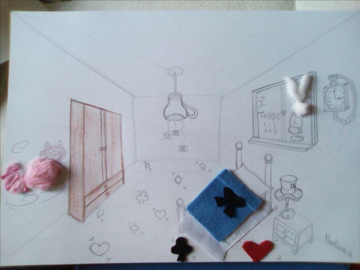 "Stanza handmade ""Alice in Wonderland"" - Martina -"