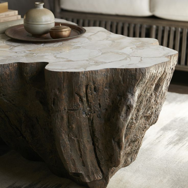 Large Tree Stump Coffee Table: 25+ Best Ideas About Tree Trunk Coffee Table On Pinterest