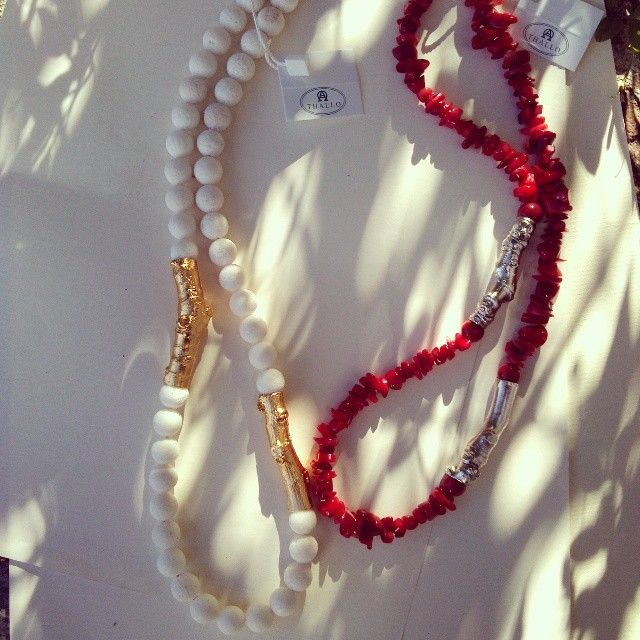 Under the sun ♥  #thallo #jewelry #natural #fashion #accessories #madein #greece #unique #love #greek #amazing #blogs #blogger #summer #sun #necklaces #red