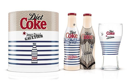 light: Coca Cola, A Mini-Saia Jeans, Jean Paul Gaultier, Packaging, Cocacola, Jeans Paul Gaultier, Jeanpaul, Design, Diet Coke