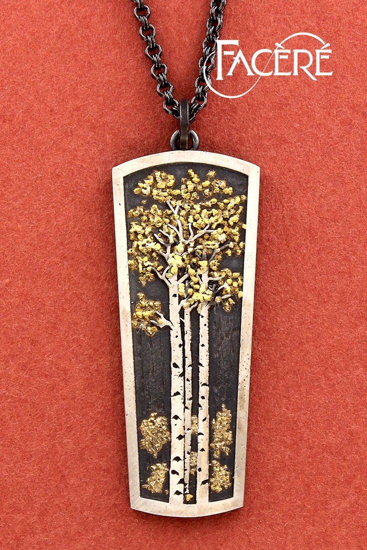 Aspen Trees Pendant Tree