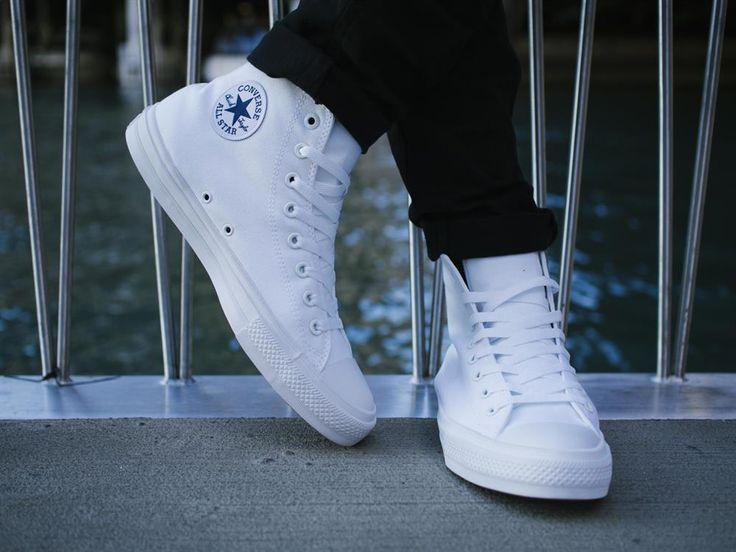 converse chuck 2 trắng