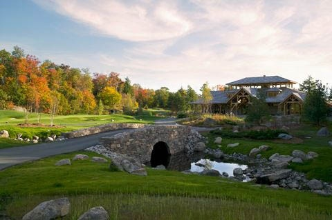 The Ridge at Manitou Clubhouse. Enjoy a fabulous round of golf, or fine cuisine in the clubhouse, or both!