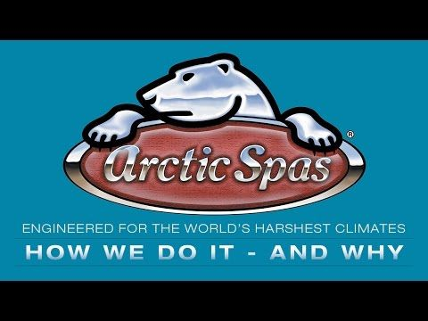 Jacuzzi -Arctic Spa - hot tub, cada hidromasaj, cromoterapie.