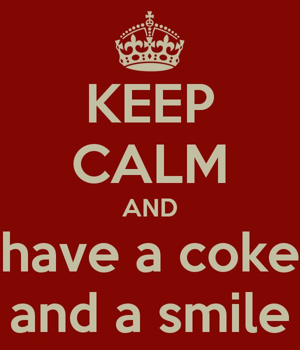 Coke and a smile...