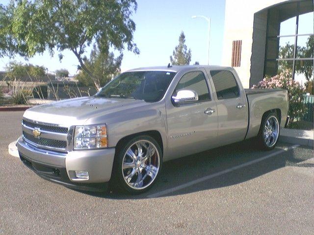 """2007-2013 Chevy Silverado 1500 2wd 3-4"""" Front/5-6"""" Rear Adjustable Drop Kit - McGaughys 34060 - McGaughys Suspension Online"""
