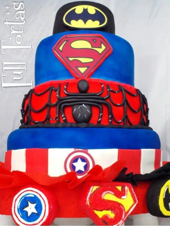 For every superhero in all of us cake    !!foodie !!foodiecakefaves