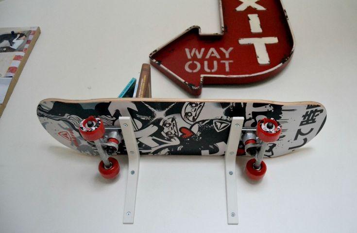 étagère skate pour chambre d'ado #kidsroom #kids #room