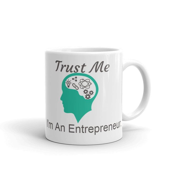 """Trust Me, I'm a entrepreneur"" -- I love the symbols, they add a realistic touch!"