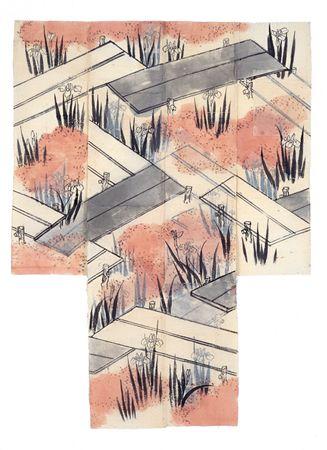 """江戸時代、「越後屋」としてきものの制作と販売に深く関ってきた三井家。三井家旧蔵の江戸時代後期から明治時代にかけてのきものとともに、下絵を紹介する展覧会が新宿で開催中です。 きものが出来上がる重要な要素であるデザインにおいて、三井家のきものからは円山応挙を祖とする円山派の大きな影響がうかがえます。同館所蔵のきものと下絵、亀居山大乗寺(応挙寺)所蔵の下絵、合わせて70余点を展示、三井家ならではのきものや下絵の美しさと、円山派がもたらしたデザインの世界へと誘います。 下絵 江戸時代後期~明治時代前期 三井家旧蔵 大乗寺(応挙寺)所蔵 きものが広く着用されるようになったのは、15~16世紀にかけてといわれています。その形はほとんど変化していませんが、デザインに関しては時代によって異なった様相を見せています。その時々の""""流行""""がありました。…"""