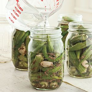 How To Pickle Okra | Step 2: Pack Jars | SouthernLiving.com