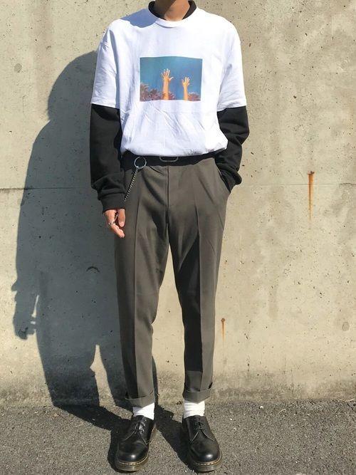 板橋しゅん|Dr.Martensのブーツを使ったコーディネート – #her…