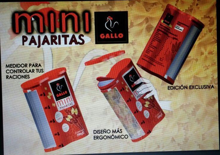 Poster realizado para la asignatura de Envase y Embalaje. Proyecto de un nuevo envase para la empresa Pastas Gallo, con photoshop (2015).