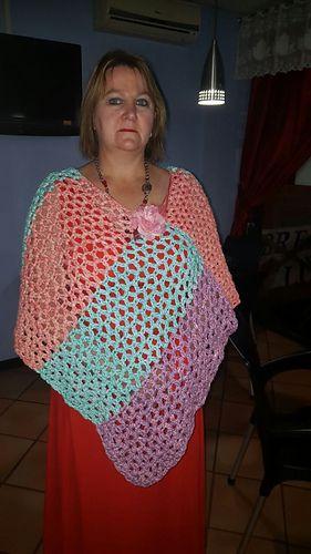 489 besten Crochet Poncho Bilder auf Pinterest | kostenlose Muster ...