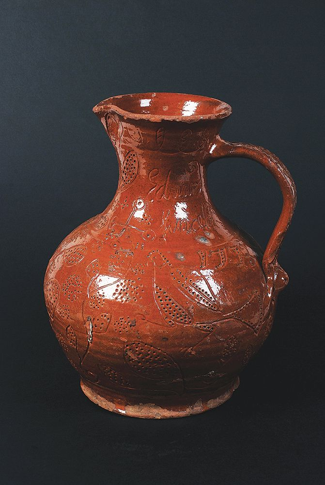 Ewenny Harvest Jug: This 18th century earthenware jug was made by the Welsh potter Edward Lancelot.  It's particularly fabulous because it's the only example in existence inscribed with his full name. Sold for £6,000.
