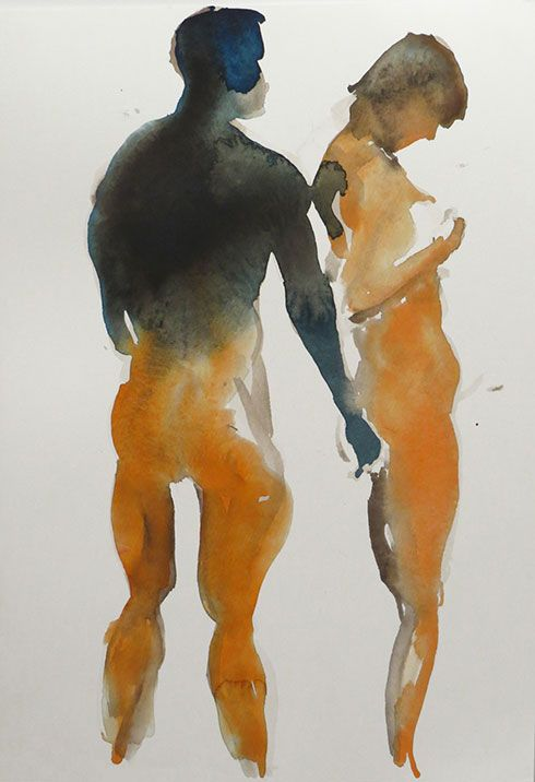 eric fischl watercolors - Google Search
