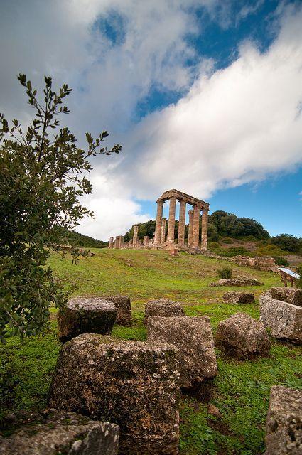 Temple of Antas, Fluminimaggiore, Sardinia, Italy