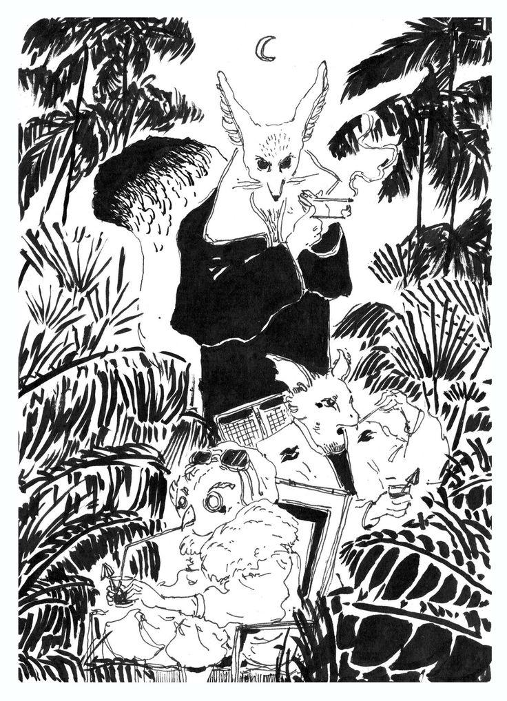 Dock Vincent illustration