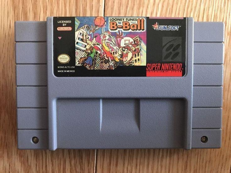Looney Tunes B-Ball (Super Nintendo Entertainment System, 1995) 20763110495 | eBay