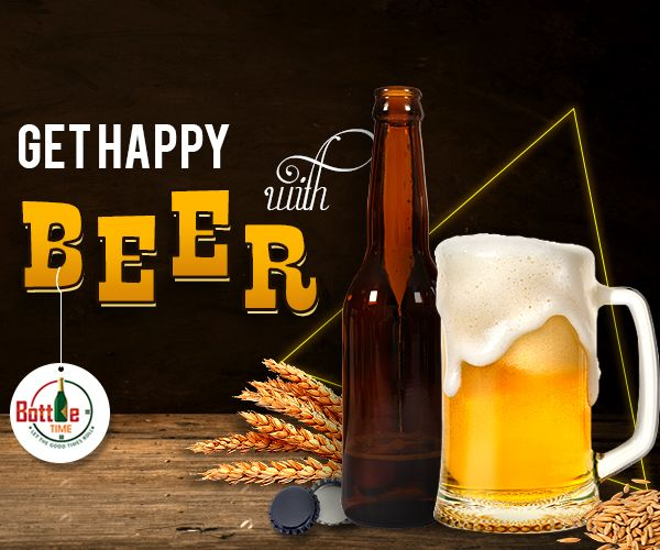 Let some happy #beer save your day! Place Your Order for Beer @ ☎️ 403-918-3030  www.bottletime.ca/services/beer-delivery.php