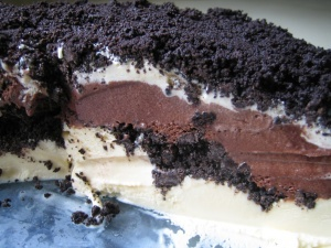 "Recipe for ""Chocolate Crunchies"" (made with Magic Shell) that are exactly like ones found in Carvel Ice Cream Cakes"
