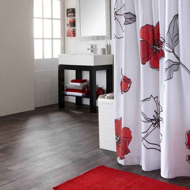 17 meilleures id es propos de rideaux de douche de salle for Accessoires de salle de bain bouclair