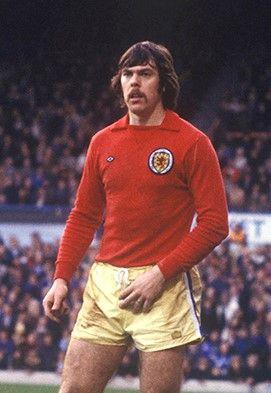 David Harvey Leeds United 1978 Wearing the Scottish goalkeepers shirt
