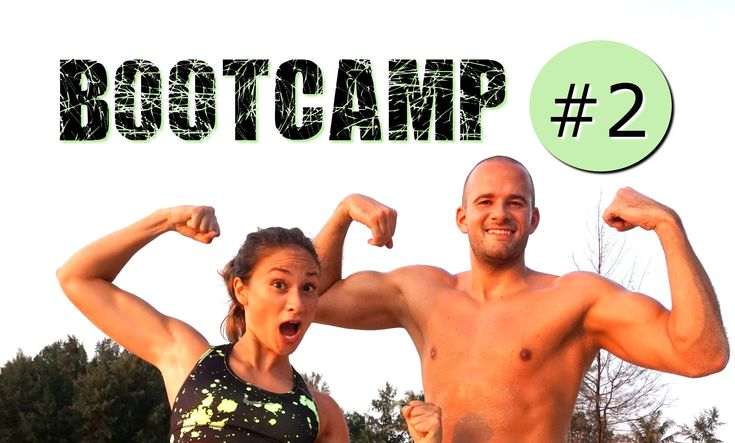 Bootcamp Workout #2 - Dünne Beine - Flacher Bauch - schlanke Oberschenke...