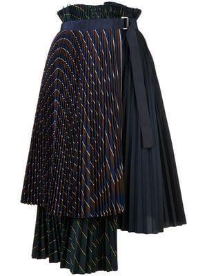 layered pleated midi skirt – #layered #Midi #pleated #skirt