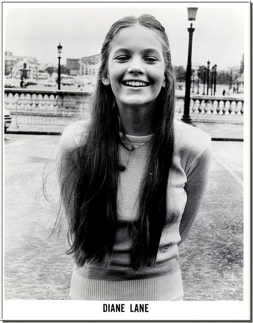People tell me I look like Diane Lane a lot, I think that we look alike in high school.