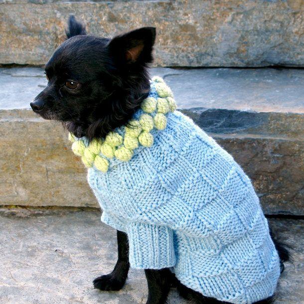Sweater Pom Blue