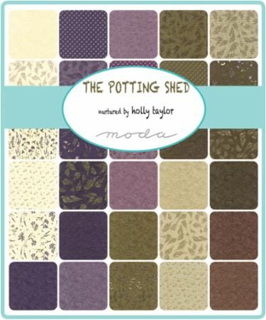 The Potting Shed Jelly Roll By Holly Taylor For Moda