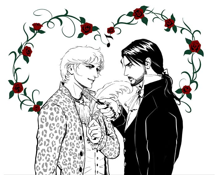 Mozart and Salieri by Sadyume on deviantART