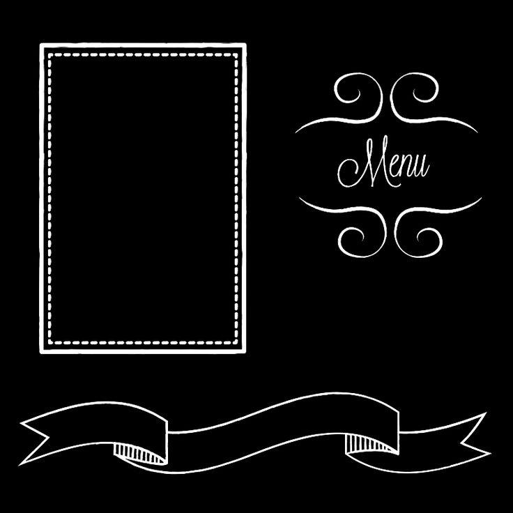 Restaurant Chalkboard Art | restaurant menu chalk board - public domain clip art image @ wpclipart ...