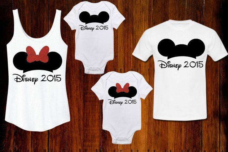 Disney Mickey Minnie Inspired Family Vacation Bodysuit, Tank or Tee 2015 Custom Walt Disney World Shirt by TheBizziB on Etsy https://www.etsy.com/listing/233104577/disney-mickey-minnie-inspired-family