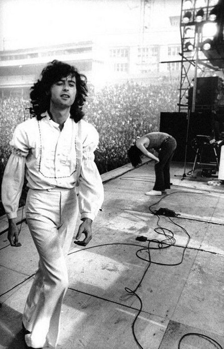 LED ZEPPELIN LIVE                                                                Page and Plant • Rocked & Knocked It Out!