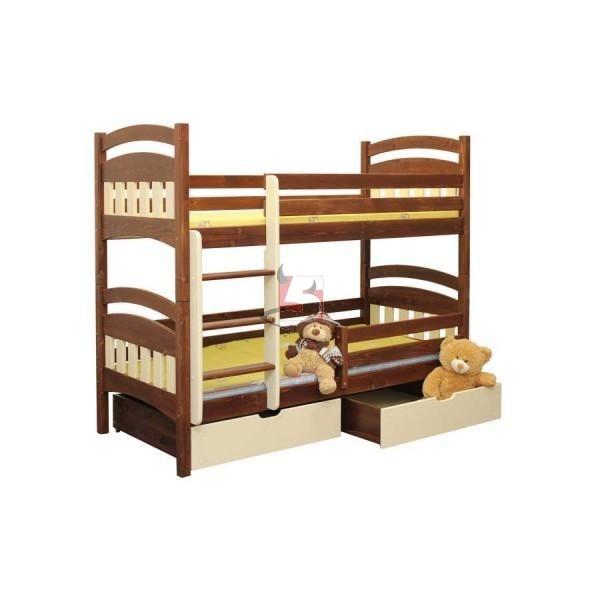 łóżko piętrowe MATEUSZ 5materace - internetowy sklep z materacami